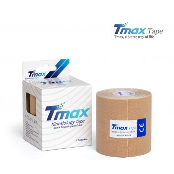 Кинезиотейп Тимакс (Tmax, Корея) 7,5 см х 5м - Бежевый