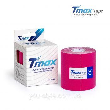 Кинезиотейп Тимакс (Tmax, Корея) 7,5 см х 5м - Розовый