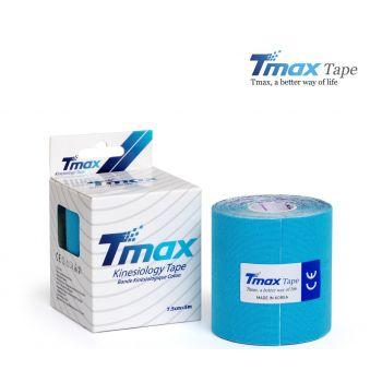 Кинезиотейп Тимакс (Tmax, Корея) 7,5 см х 5м - Голубой