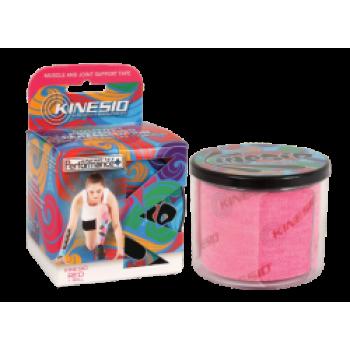 Кинезиотейп Кинесио Перфоманс + (Kinesio, США) 5 см x 5 м - Розовый